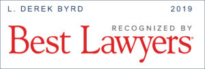 Derek Byrd voted Best Lawyers