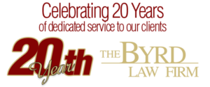 Byrd law Firm Celebrates 20 Years