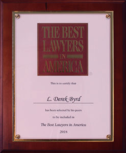 The Best Lawyers in America Derek Byrd Sarasota Attorney